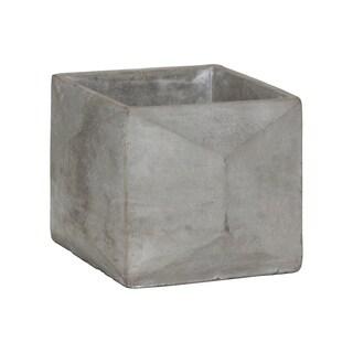 UTC51110 Cement Pot Concrete Finish Gray