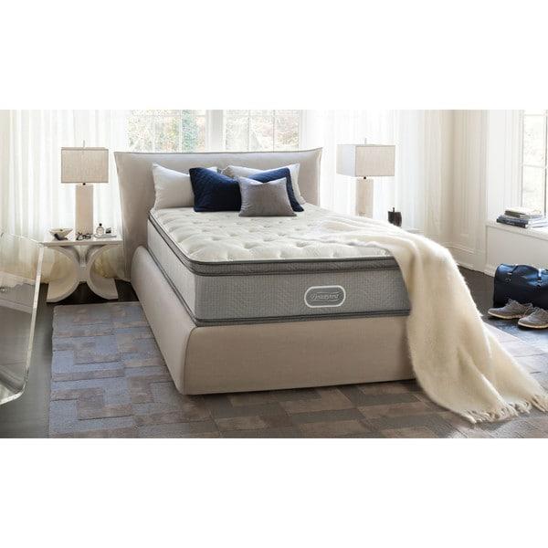 Gentil Beautyrest 13 Inch Marco Island Plush Pillow Top Twin Size Mattress Set