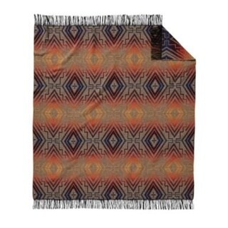 Pendleton Chimayo Fringed Throw Sunset Cross