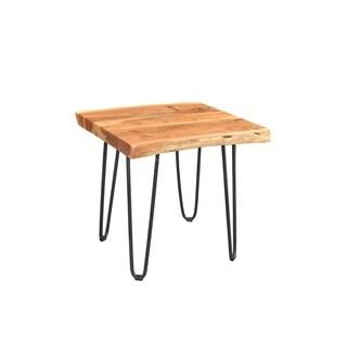 Wanderloot Mojave Mid-Century Modern End Table, Brown