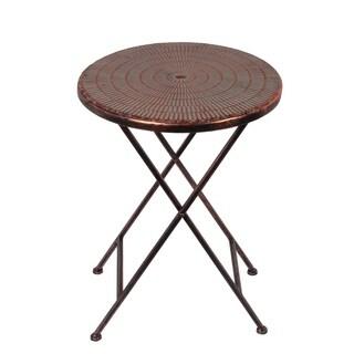 Sml. Iron Folding Table - Copper