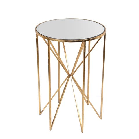 Accent Table - Gold Leaf