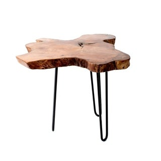 Privilege Teak Root Small Accent Table