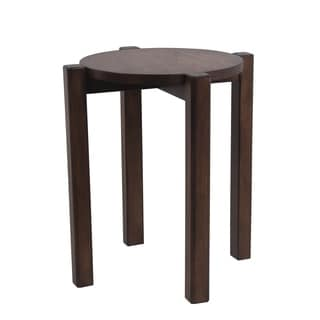 Stackable Accent Stool - British Brown