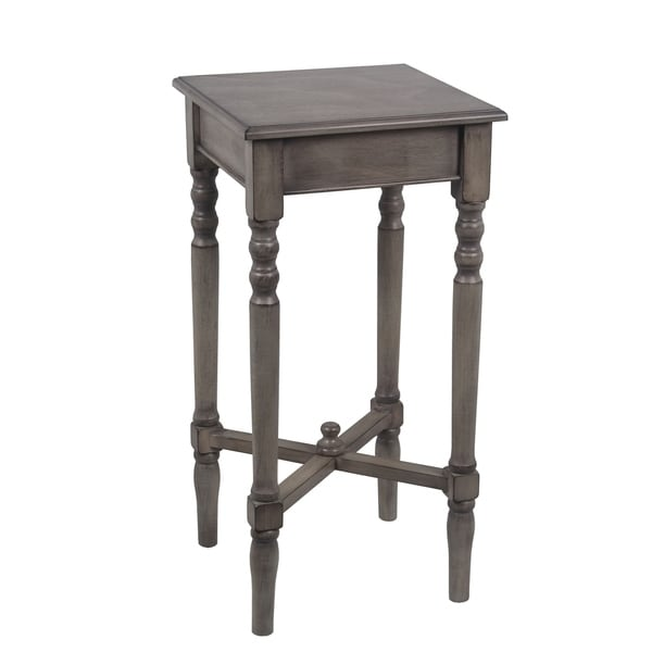 Square Accent Table - British Brown