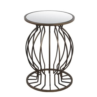 Accent Table - Iron & Glass