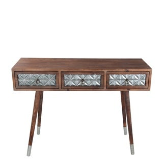 3 Dr Accent Console - Wood Iron