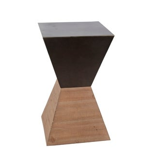 Large Accent Stand - Wood Iron