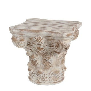 Accent Table - Stone White