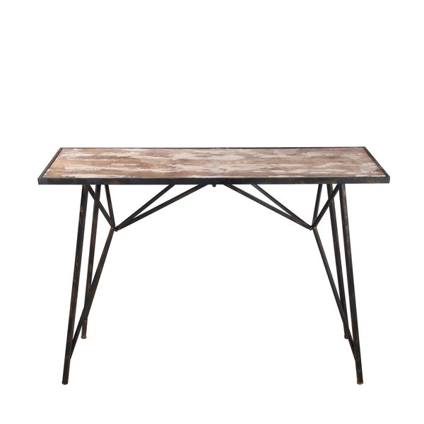 Accent Console - Wood Iron