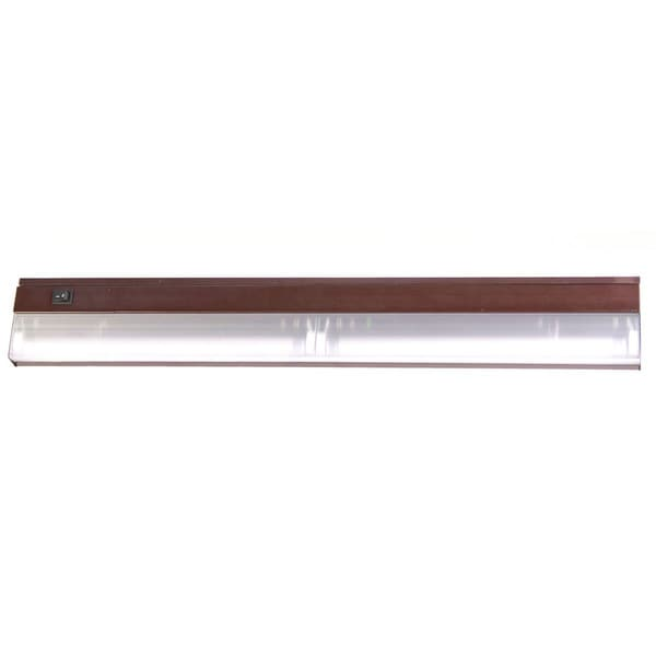 Acclaim Lighting Fluorescent Undercabinets Collection 2-Light 24-inch Bronze Light Fixture