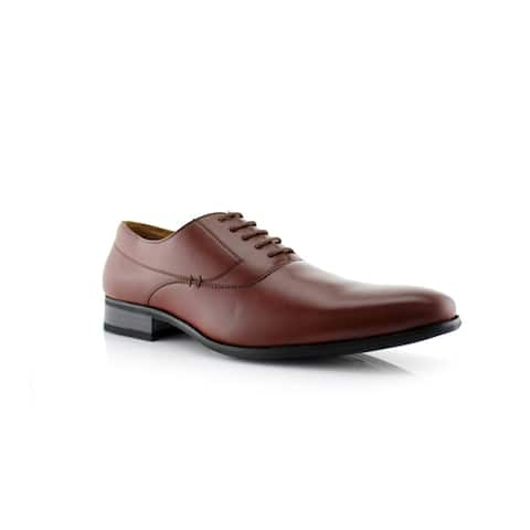Delli Aldo Frank M19121PL Men's Dress Shoes for Work or Everyday Wear