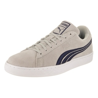 Puma Men's Suede Classic Badge Casual Shoe
