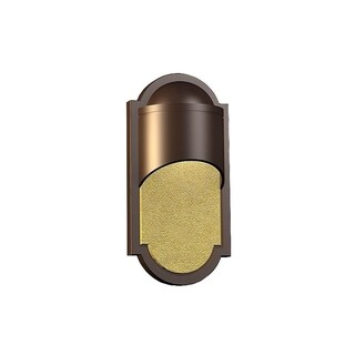 Fifth and Main Dark Sky Southwest 1 Light Bronze ADA Outdoor Wall Sconce