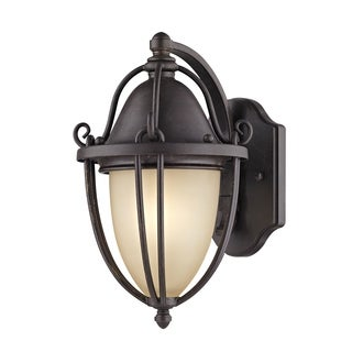Fifth and Main Portage 1 Light Bronze Outdoor Wall Sconce