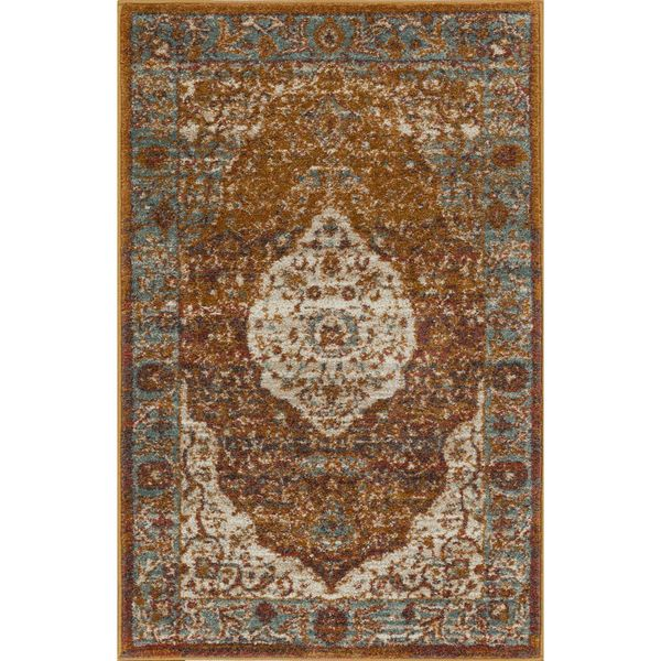 Well Woven Bohemian Modern Medallion Multi Mat Accent Rug - 2'3 x 3'11
