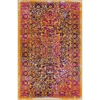 """Well Woven Bohemian Vintage Lavender Mat Accent Rug - 2'3"""" x 3'11"""""""