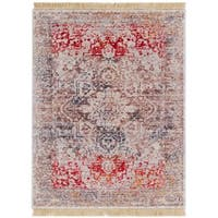 Well Woven Chic Luxury Modern Boho Beige Area Rug - 2' x 3'