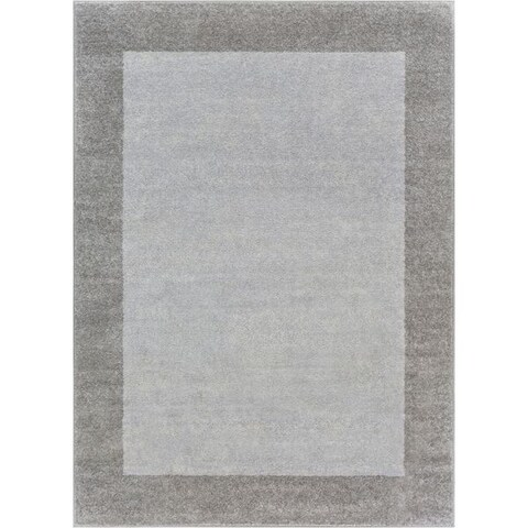 "Well Woven Distressed Ombre Border Area Rug - 7'10"" x 10'6"""
