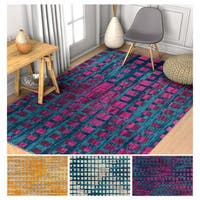 Well Woven Geometric Area Rug - 7'10 x 10'6