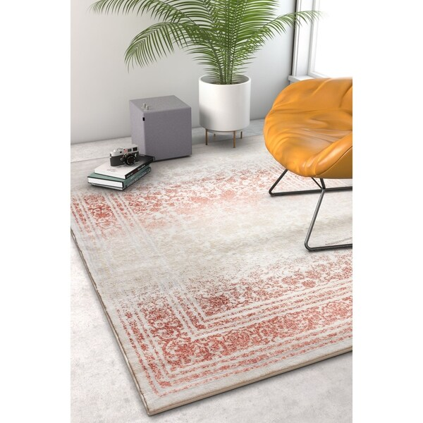 """Well Woven Distressed Modern Area Rug - 7'10"""" x 10'6"""""""