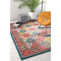 "Well Woven Vintage Panel Multi Area Rug - 3'11"" x 5'7"""