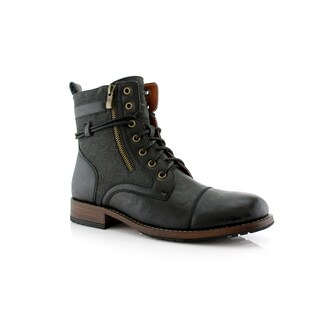 Polar Fox Kanye MPX808578 Men's Combat Boots For Work or Casual Wear