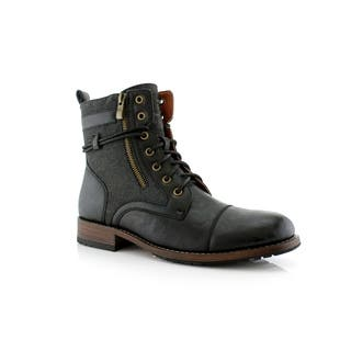 55949b0c0c9d4d Polar Fox Kanye MPX808578 Men's Combat Boots For Work or Casual Wear