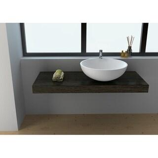 Legion Furniture Solid Surface 19.7 Sink Bowl