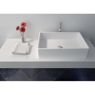 Legion Furniture Solid Surface 23.6 Sink Bowl