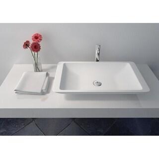 Legion Furniture Solid Surface 23.6 Sink Bowl