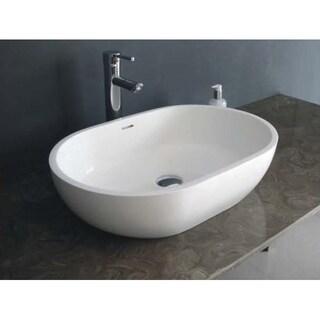 Legion Furniture Solid Surface 22.8 Sink Bowl