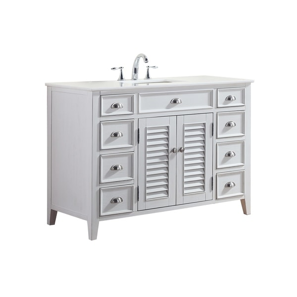 Shop Modetti Palm Beach Inch Single Sink Bathroom Vanity With - Bathroom vanities palm beach