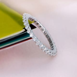 De Couer 14k Gold 1/ 2ct TDW Diamond Eternity Wedding Band|https://ak1.ostkcdn.com/images/products/17950160/P24128246.jpg?impolicy=medium