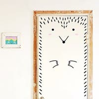 Animal Door and Wall Decal Removable Wall Stickers Hedgehog Wall Vinyl