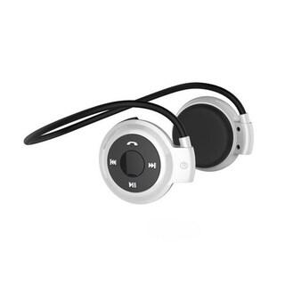 Wireless Head Mounted Stereo Bluetooth 4.0 Hand-free Headphone Earphone (Option: Silver)