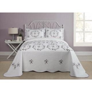 Modern Heirloom Gwen Cotton Queen Size Bedspread (As Is Item)