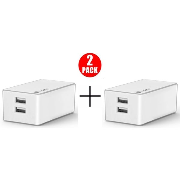 Shop Mophie Dual Usb Port High Powered 4 2a Wall Charger