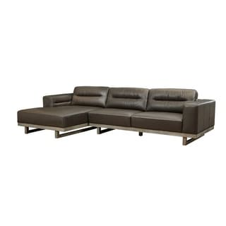 Lazzaro Leather Cooper RSF Sofa Sectional
