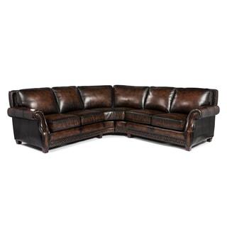 Lazzaro Leather Prato Sofa Sectional
