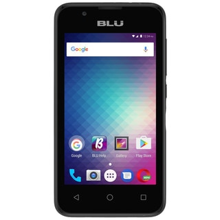 BLU Advance 4.0 L3 A110U Unlocked GSM Dual-SIM Phone - Black