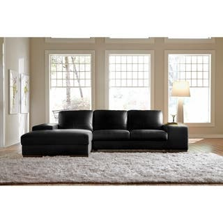 Leather Sectional Sofas For Less Overstock