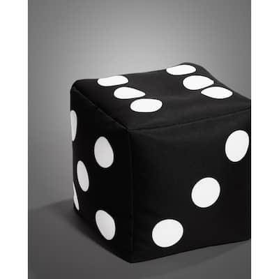 Cube Dice Bean Bag Pouf