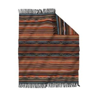 Pendleton Chimayo Fringed Throws Adobe