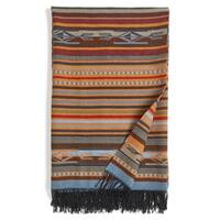 Pendleton Chimayo Fringed Throw Garnet