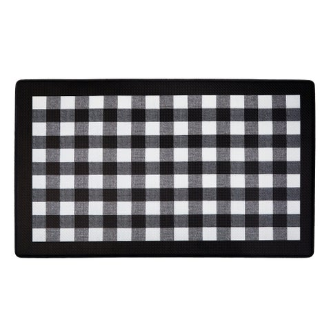 Anti Fatigue Mat - Buffalo Check - 1'6 x 2'6