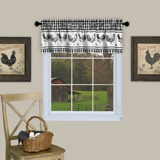 Barnyard Window Curtain Valance