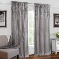 Willow Rod Pocket Window Curtain Panel
