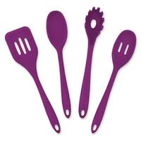 Purple 4 Piece Kitchen Cooking Set