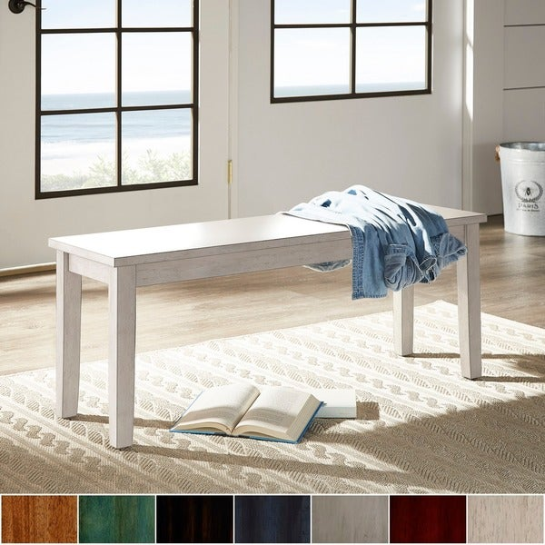 Wilmington II Wood Dining Bench by iNSPIRE Q Classic. Opens flyout.